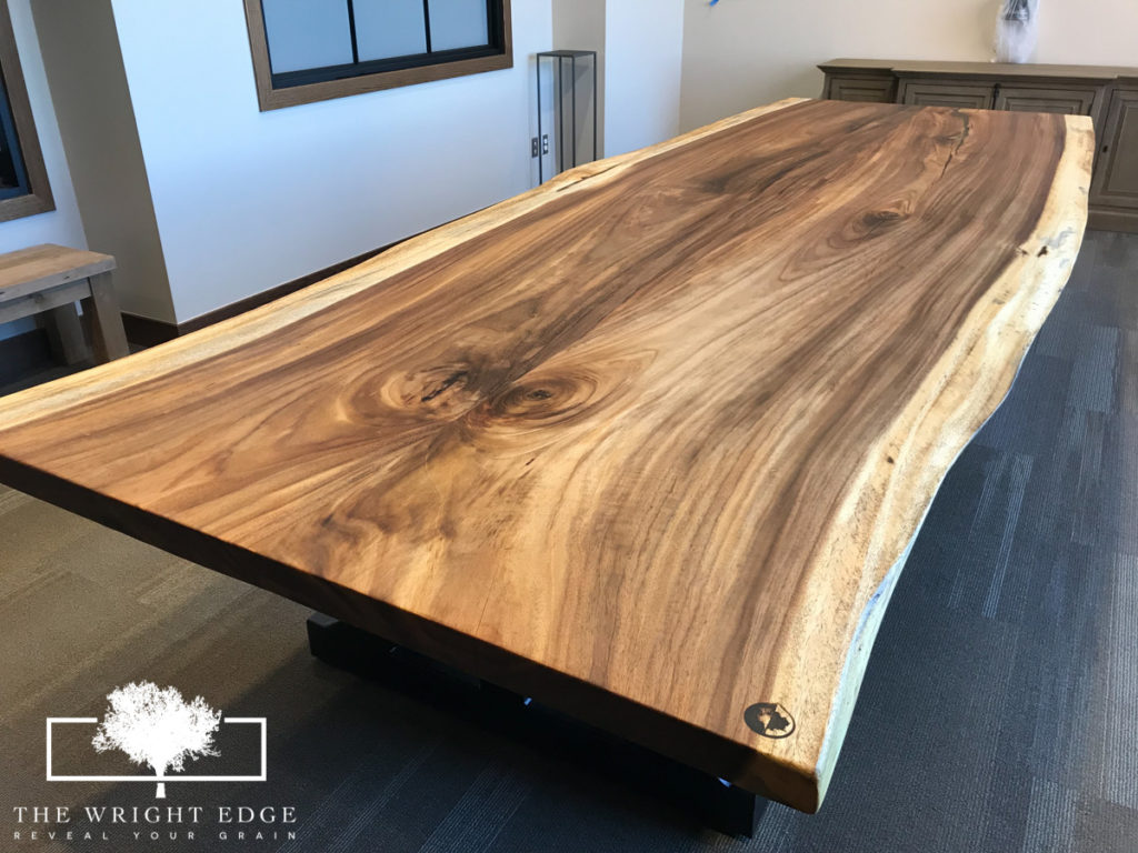 The Wright Edge Live Edge Tables